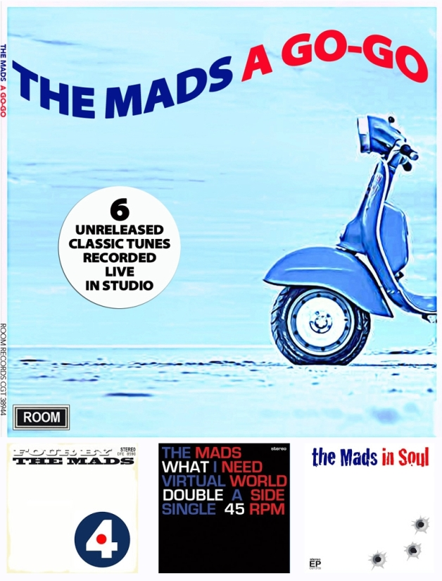 The Mads A Go-Go Front